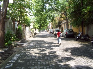 Paved paths of Pondy